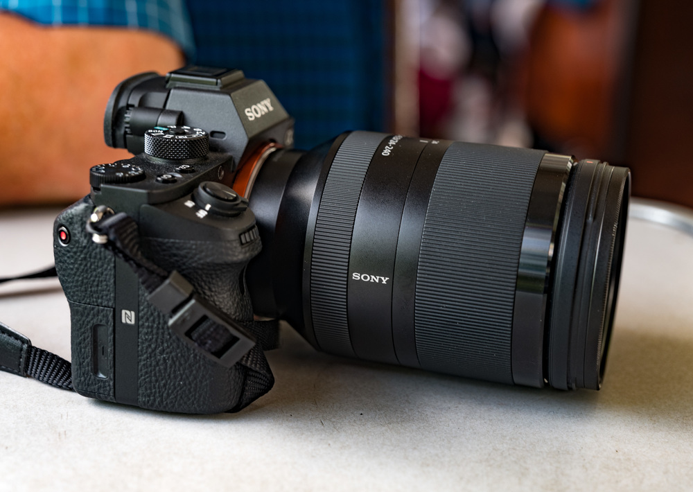 Ralf's Sony A7r Mark II and 24-240 zoom is an impressive piece of full-frame kit. The lens is amazingly compact and light for such a range of focal lengths.