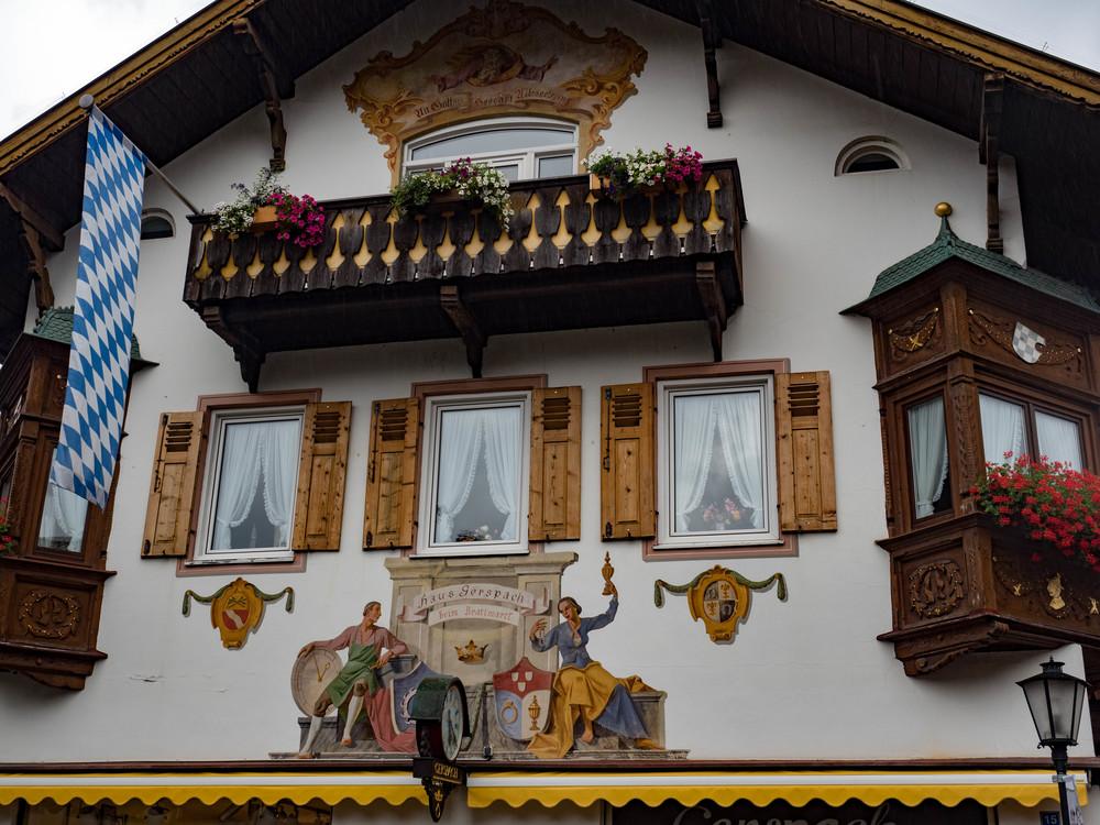 Garmisch street scene