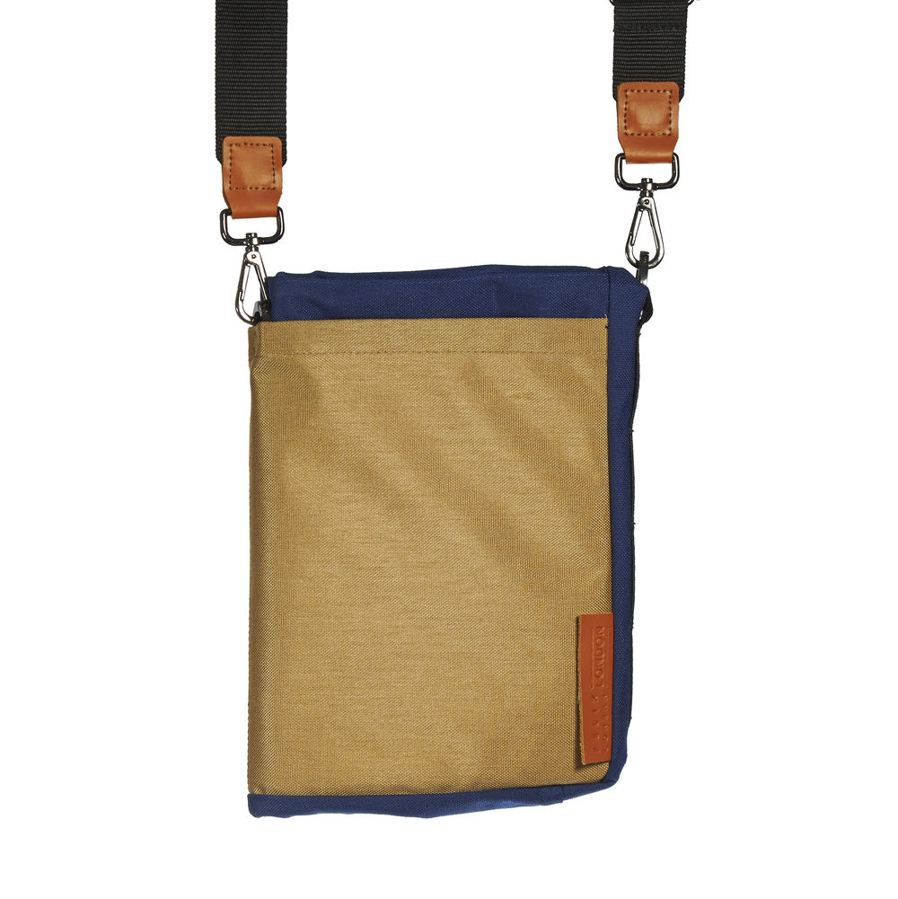 Ohyo bag Mk.I, blue, in tablet configuration