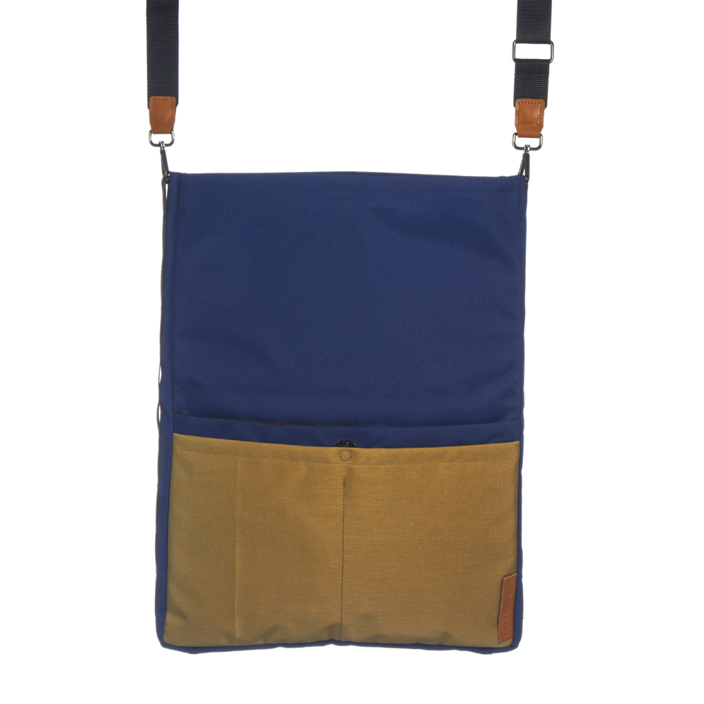 Ohyo Mk.I bag, blue in large tote configuration
