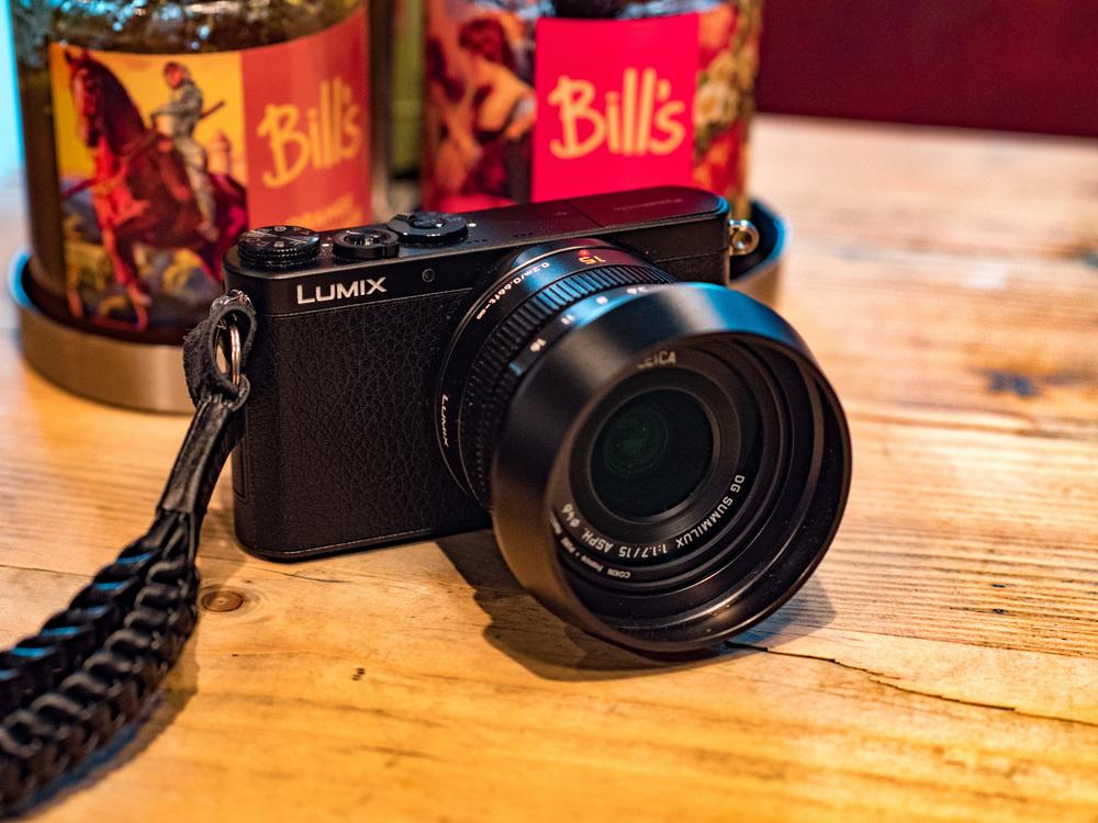The superb and (relatively) inexpensive 15mm Leica DG Summilux on the tiny Lumix GM1