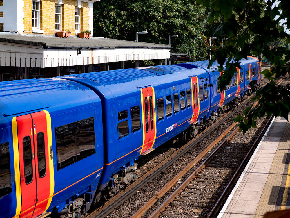 South West Trains, London: Panasonic Lumix GX8 with f/1.2 Leica DG Nocticron