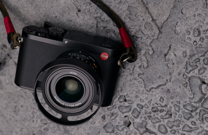 New Leica Q hood. Photo: Thorsten von Overgaard