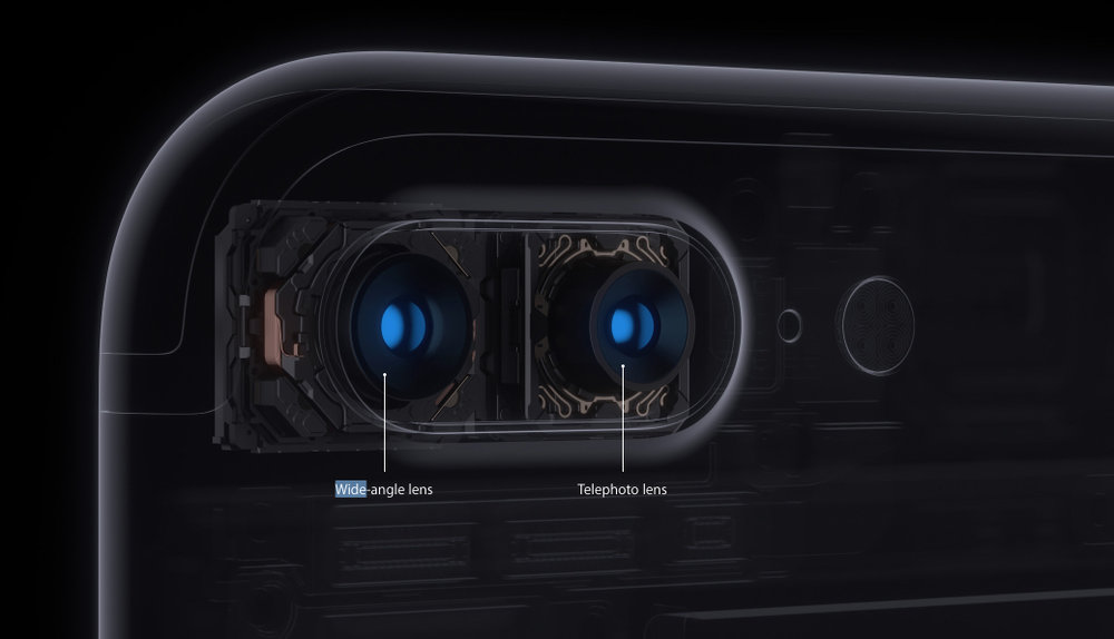 Two cameras, wide angle and telephoto bring new tricks to the iPhone 7 Plus