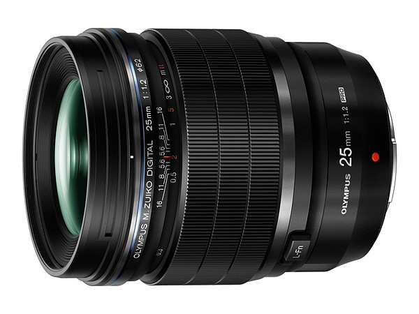 Impressive beast, the f/1.2 50mm equivalent with the pro-lens trademark of auto/manual focus clutch