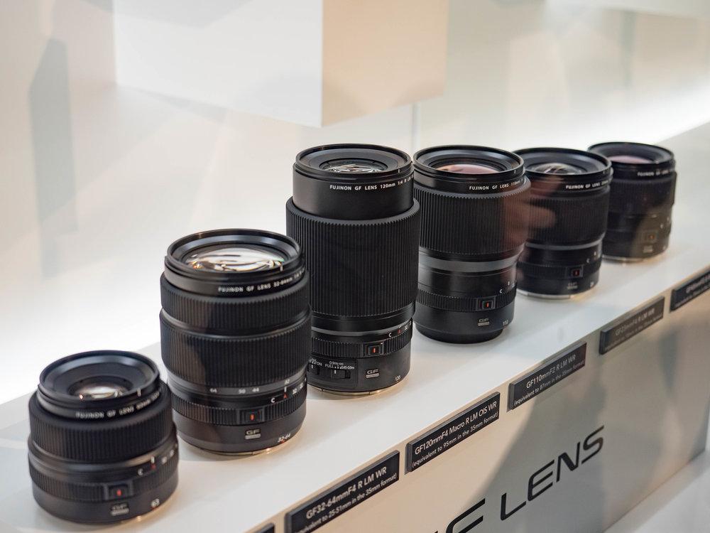 New MF lenses, new G mount