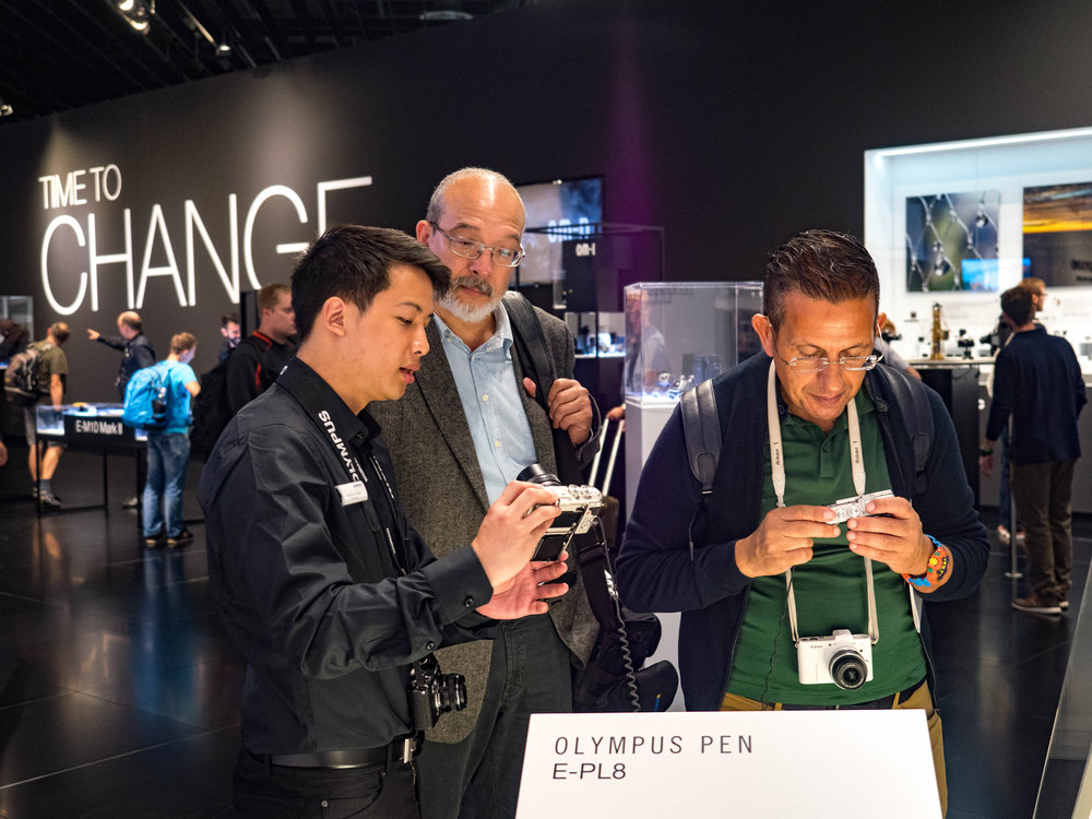 Lots of interest in the latest Olympus PEN E-PL8