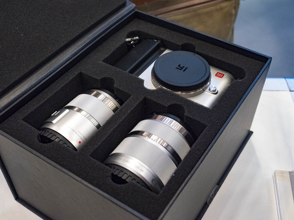 Just the job: Camera and two lenses in this wonderful presentation box for £500.
