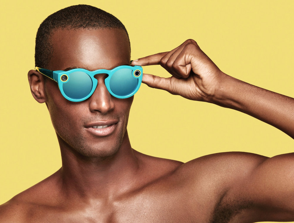 Hmmm..... Now could I hack a pair of specs like this? Would anyone notice? These are the new Snap Connected Sunglasses. My excuse will be that we don't get enough of it in the UK. Mind you, if I looked like this I suppose I could get away with anything.