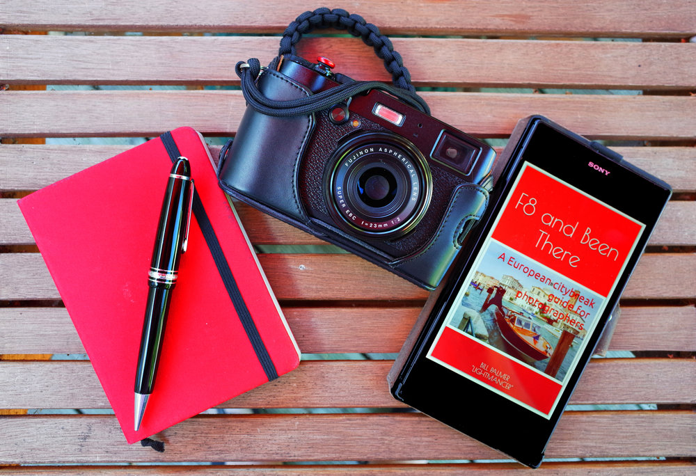 The X100T was my constant companion as I wrote my travel guide,   F8 and Been There