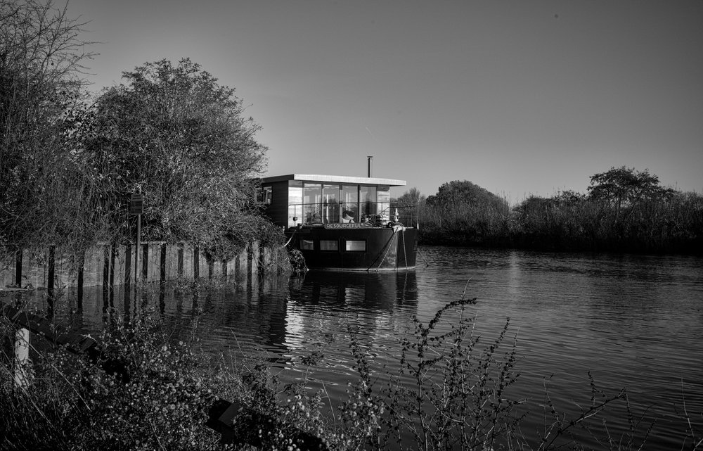And for something different, a riverscape from the Monochrom and the original 28mm f/5.6 Summaron, complete with vintage vignette.