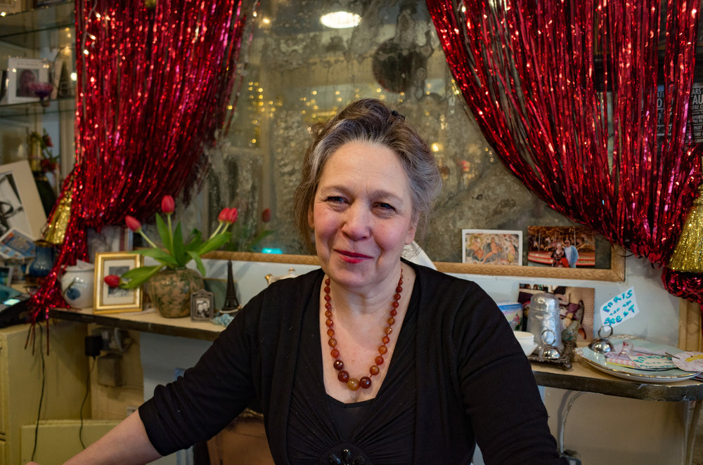 Michelle Wade and her eclectic collection of theatrical memorabilia