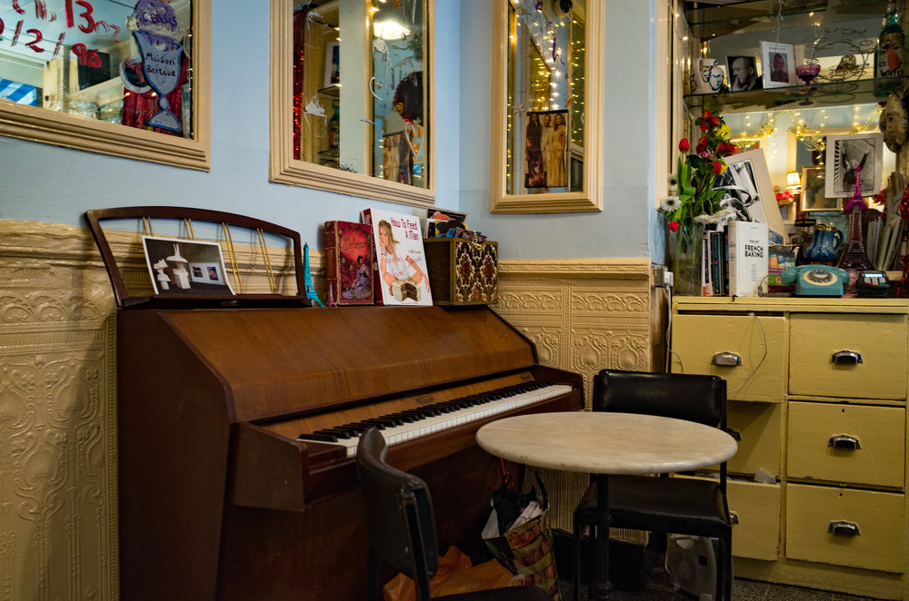 Tinkle the ivories over breakfast at Maison Bertaux