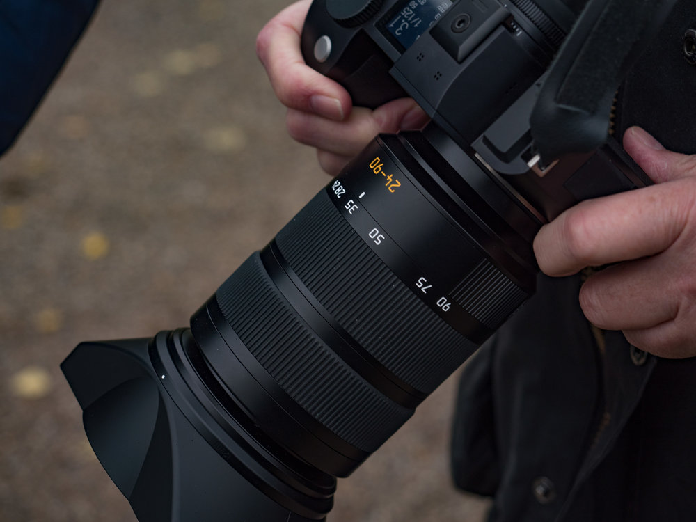 """With the """"standard"""" 24-90mm Vario-Elmarit the SL becomes a big beast indeed. But it is a beast capable of outstanding results (this taken with Panasonic GX8 and Olympus 12-40mm Pro zoom)."""