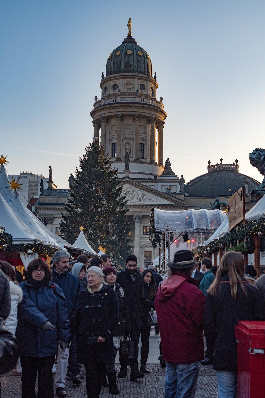 Gendarmenmarkt, surrounded by stunning architecture