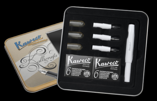 The Kaweco Sport calligraphy set
