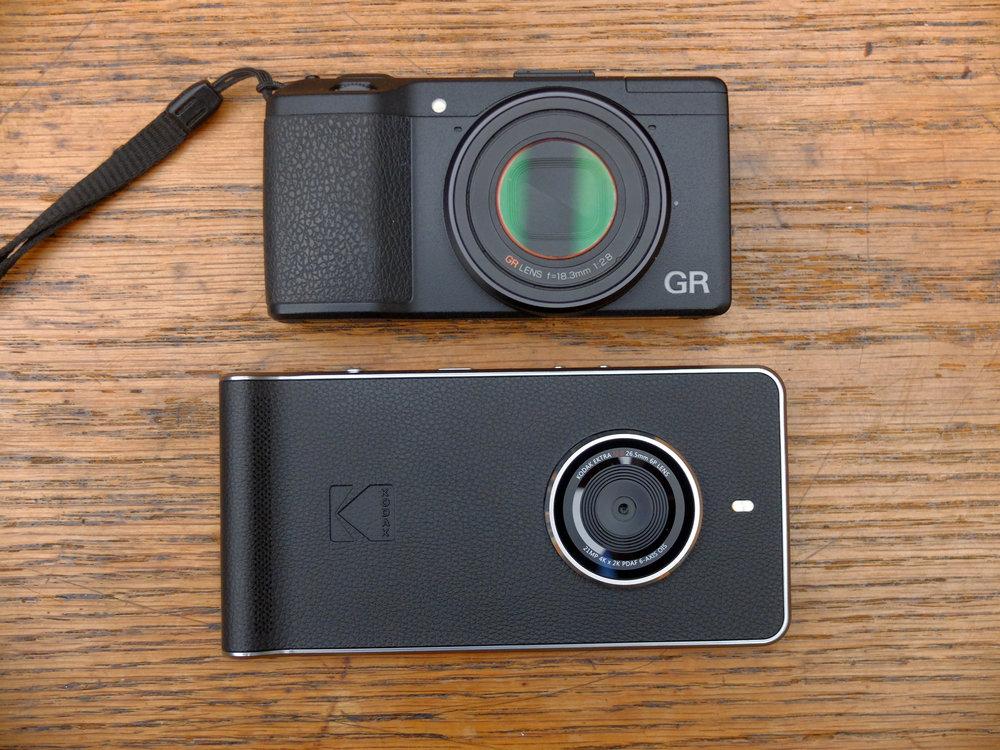 A smartphone masquerading as a camera