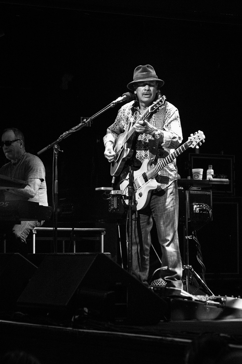 All Carlos Santana pictures by Bill Rosauer using the Canon f/1.4 LTM