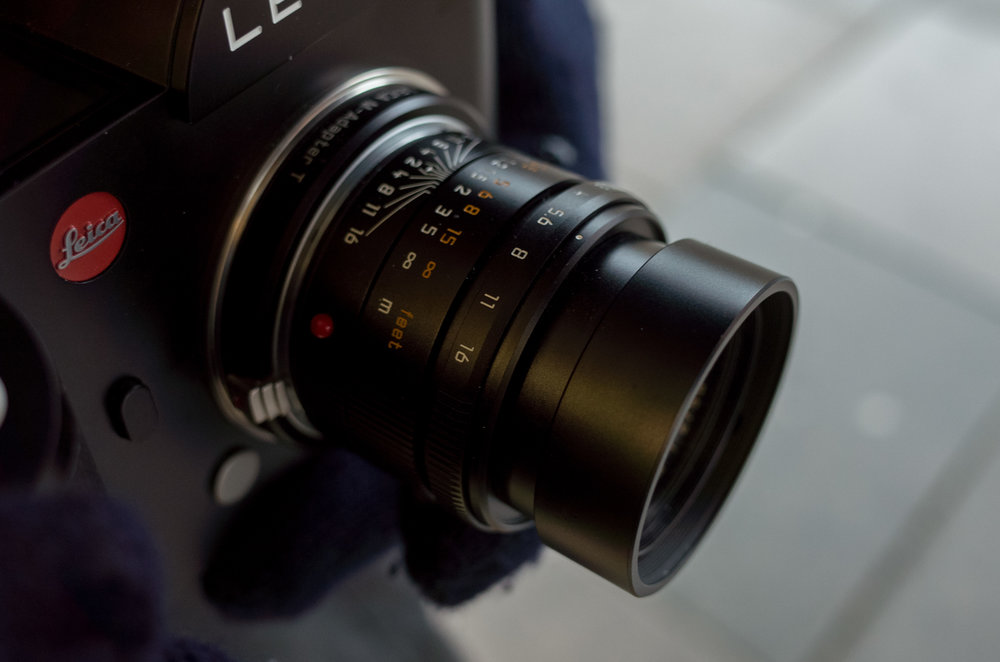 The 50mm Apo-Summicron-M ASPH is an ideal manual-focus companion for the Leica SL