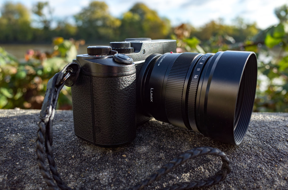 The Panasonic GX-8 with the 12mm Leica DG Summilux (equivalent to 24mm in full-frame equivalence) demonstrates that micro four-thirds is not always the compact choice. Photo Mike Evans (Ricoh GR)