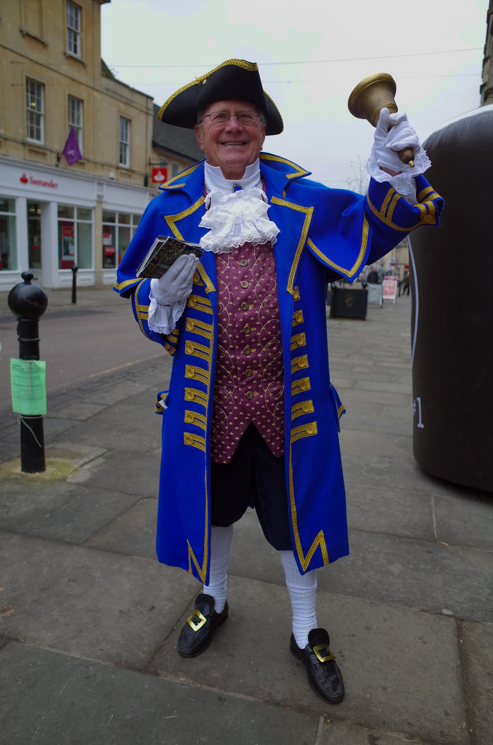 Oyez, oyez: The Ricoh GR makes an ideal pocket camera in case you happen upon the local Town Crier, as Mike did last week in Chippenham, Wiltshire. With its APS-C sensor, the Ricoh is a no-compromise shooter but lacks the impressive zoom and the versatility of the one-inch contenders.