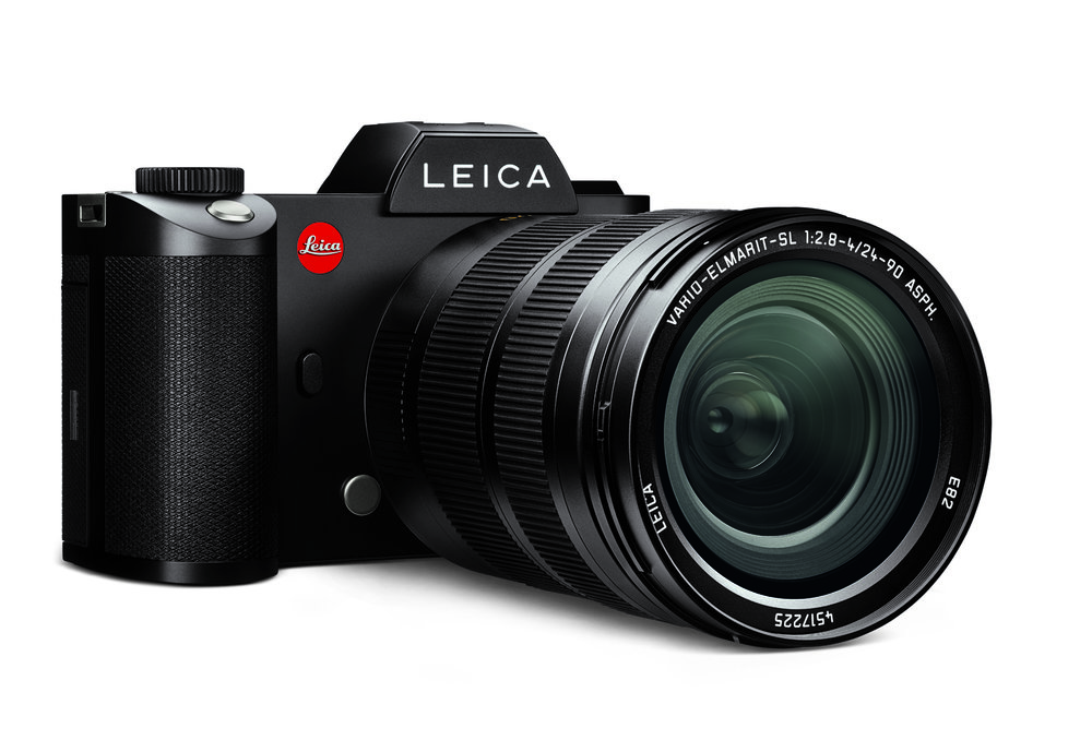 The Leica SL with the 24-90mm Vario-Elmarit-SL is a superb all-round choice in the full-frame sector. But it comes neither cheap nor light (image Leica)