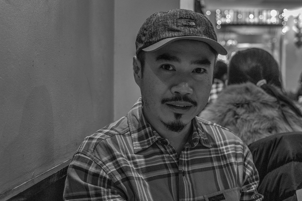 Portraits at 50mm with the Tri-Elmar: Above, My friend Steven Kwan, another keen Leica photographer, taken at ISO 1600 with the Monochrom Mk.I. Below, Steve Beeley, head porter at Queen's Oxford, Leica M-D.