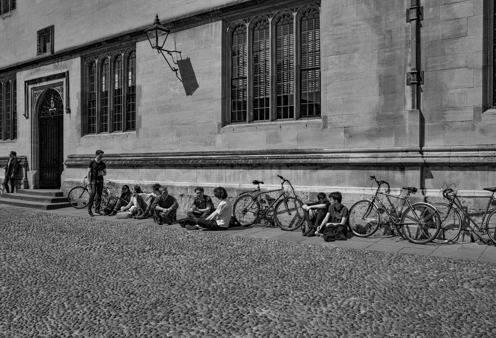 University town Oxford: Tri-Elmar at 28mm, Leica M-D.