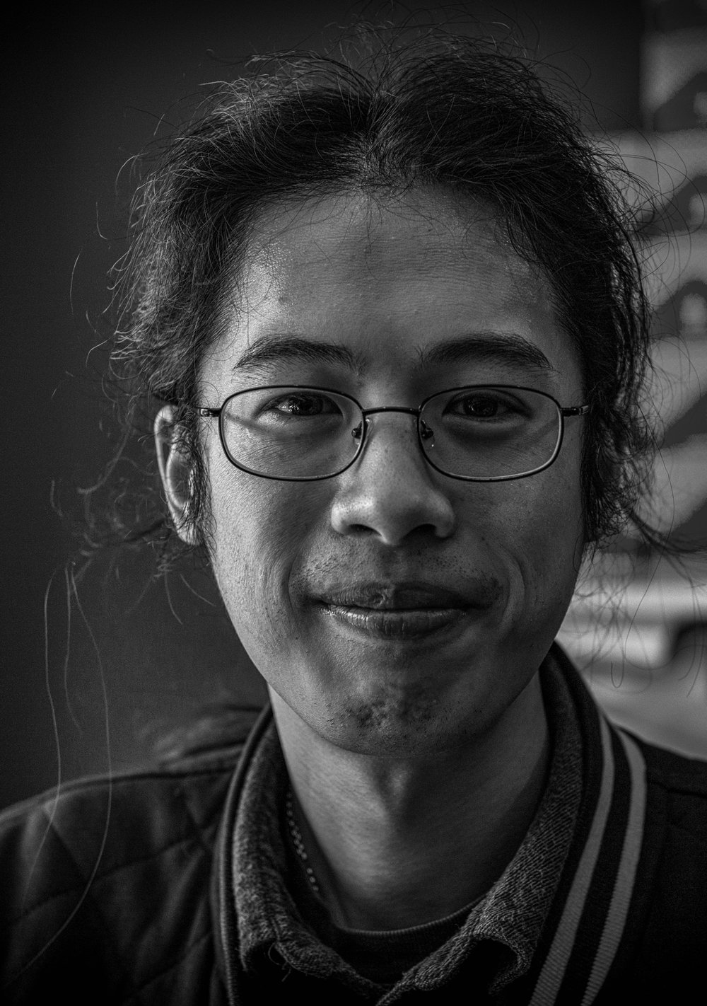 "Will Tang of Aperture: ""One of the least common lenses to see someone using"" (Leica M-D and 50mm f/2.8 collapsible Elmar-M)"