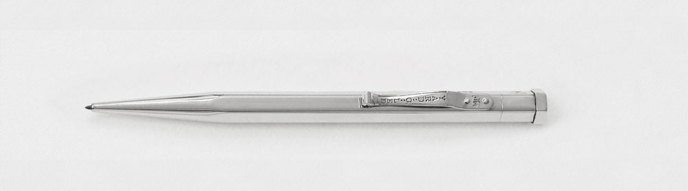 Diplomat plain pencil, the original design from 1934 with an angular, hexagonal barrel, £275