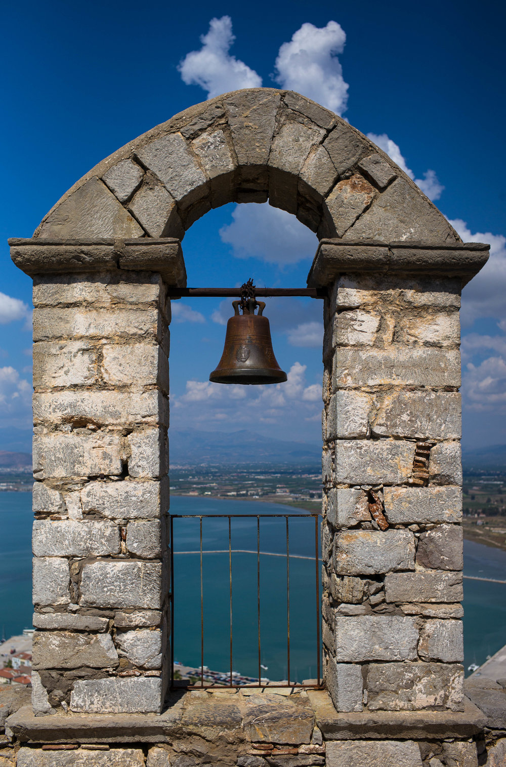 43 AWOG 2014 Bell at Palamidi Castle at Nafplio.jpg