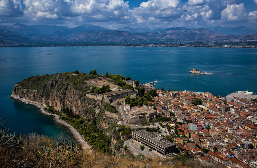 44 AWOG 2014 Acronauplia from Palamidi Castle at Nafplio.jpg