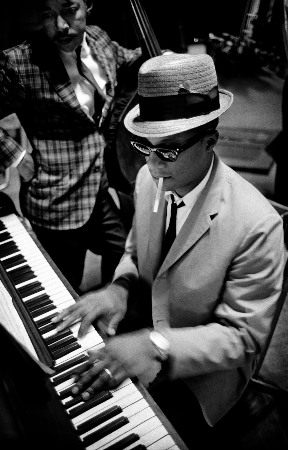 © Jim Marshall Photography LLC. From Jazz Festival: Jim Marshall (Reel Art Press).