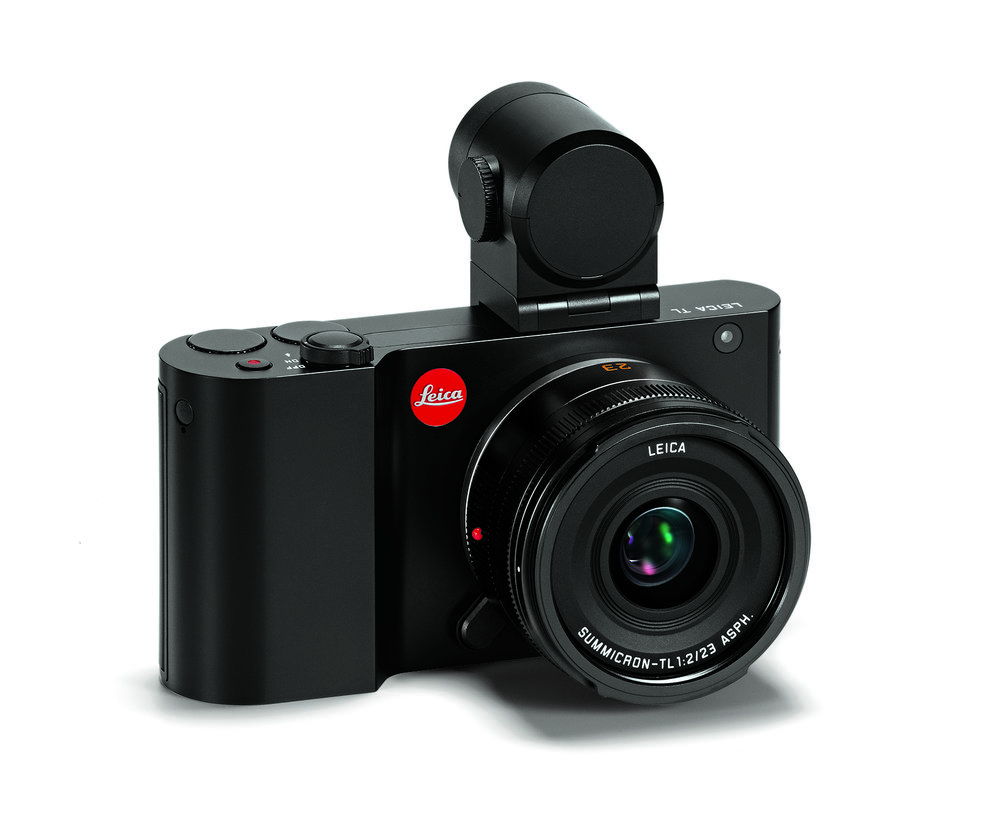 The Leica T and TL have a handicap in requiring a hotshoe-mounted electronic viewfinder. With an extra 5.7mm in height, the new camera could accommodate a built-in finder