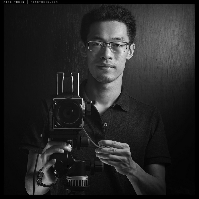 Now chief strategist for Hasselblad: A selfie of Ming Thein
