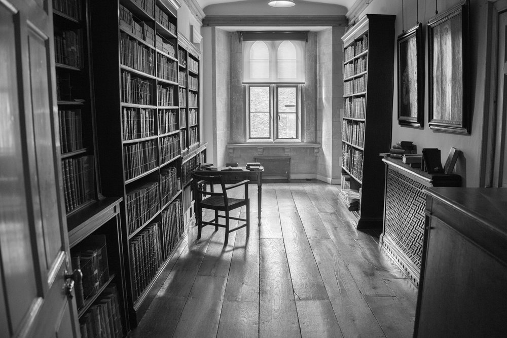 Fox Talbot's library at Lacock Abbey