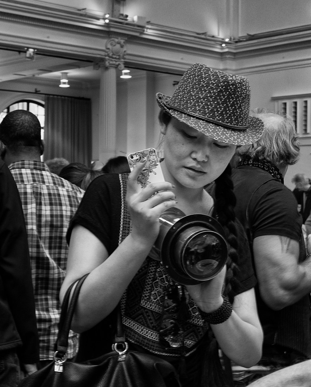Photographica, London, is always busy and attracts buyers from around the world