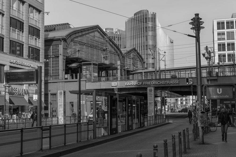 Friedrichstasse station, Berlin, 50mm Apo-Summicron