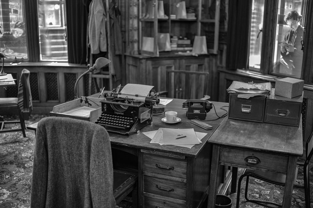 Dun codebreakin': Bletchley Park Museum, Monochrom Mark I and 35mm Summilux-M
