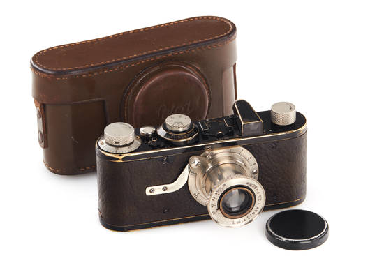 Leica I Model A with the Elmax lens. Guide price, €15,000.