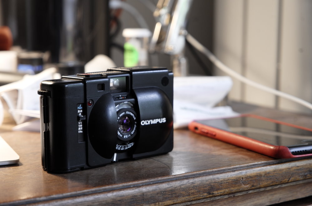 The XA with rangefinder is a perfect pocket film camera