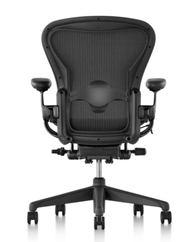 macfilos home sitting pretty the herman miller aeron task chair