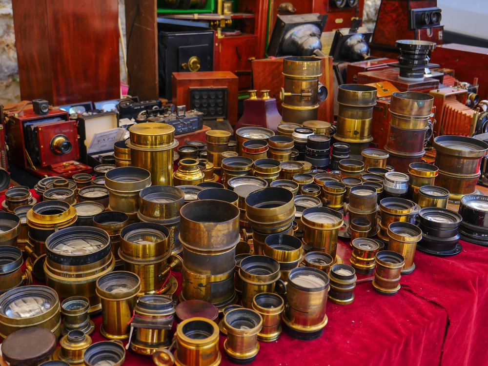 Where there's muck, there's brass: These old lenses have a faithful following and a ready market