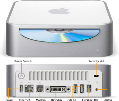 The 2005 Mac mini was definitely my first Mac, if only by three days. At £299 it offered many waverers an easy way into world of Apple. Just look at all those now-defunct ports.