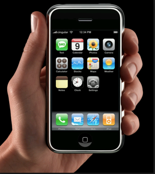 iPhone No.1 — imperfect, clunky, slow. But it created a revolution in personal communications