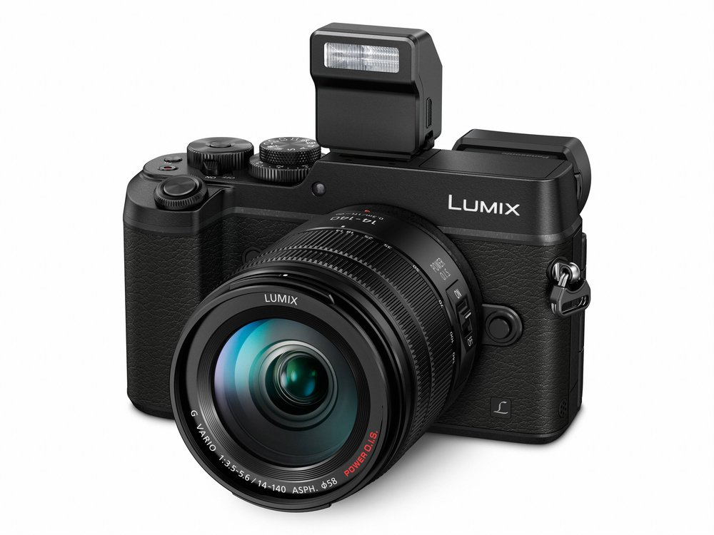 The GX8 is Mike's choice as the ideal professional-quality rangefinder-style body from Panasonic. It features all-metal construction, weatherproofing and that useful tilting viewfinder from the earlier GX7 model. The lens in this shot is the 14-140mm (28-280) f/3.5-5/6 Lumix G Vario zoom