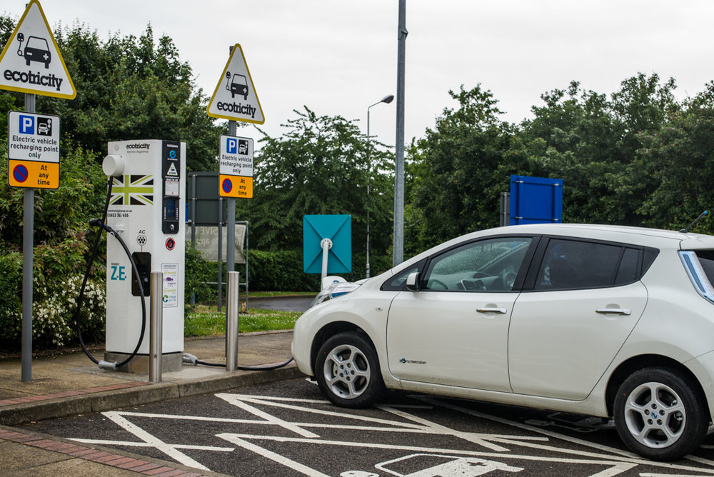 Mike soon realised that the charging stations were not always available and, sometimes, out of action. That's when range-angst sets in. But his new white Nissan Leaf was a delight to drive