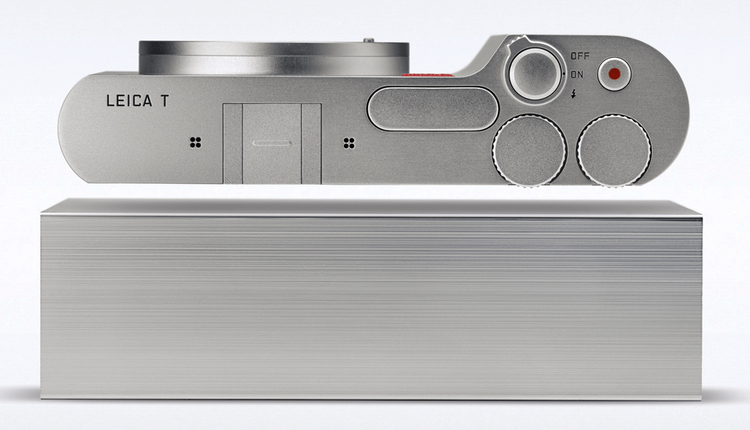 Machined from a solid block of aluminium: Not everyone's idea of ideal but it's certainly a crowd stopper. The original Leica T is now something of a cult object and is surprisingly affordable