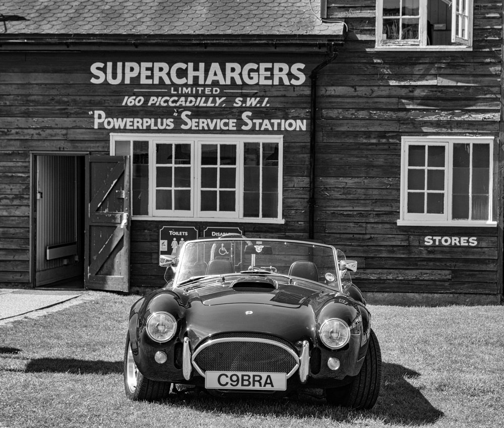 Superchargers, toilets and a more modern sporting conveyance (12-60mm Leica DG Vario-Elmarit)