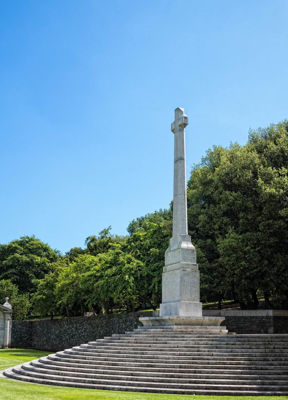 27 VPK War Memorial Garden Islandbridge July 2017 Large Cross-.jpg